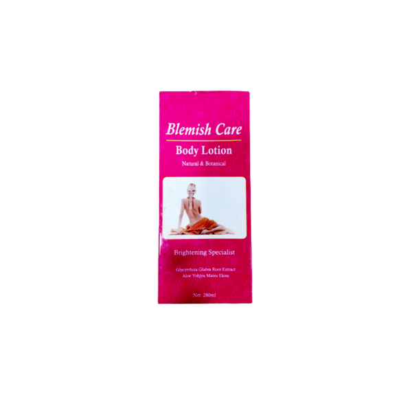 Blemish Care Body Lotion Natural & Botanical