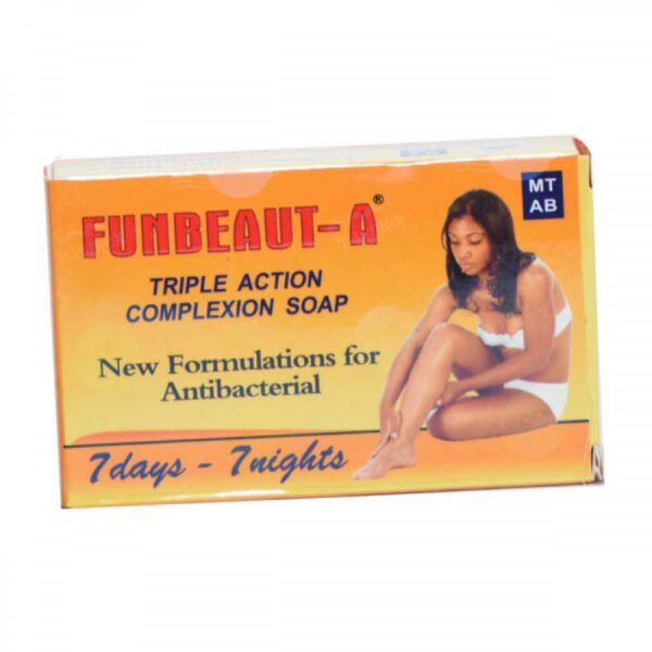 FUNBACT A TRIPLE ACTION COMPLEXION SOAP