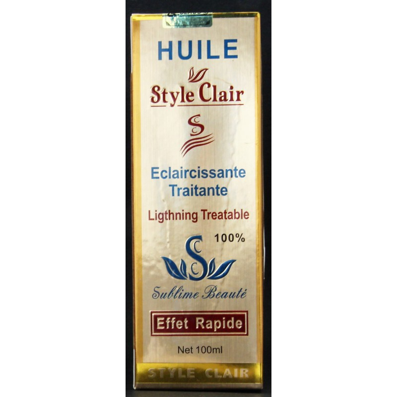 Huile Style Clair oil