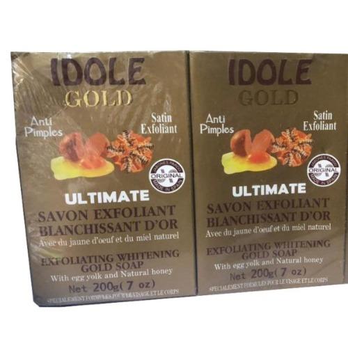Idole Gold Exfoliating Soap