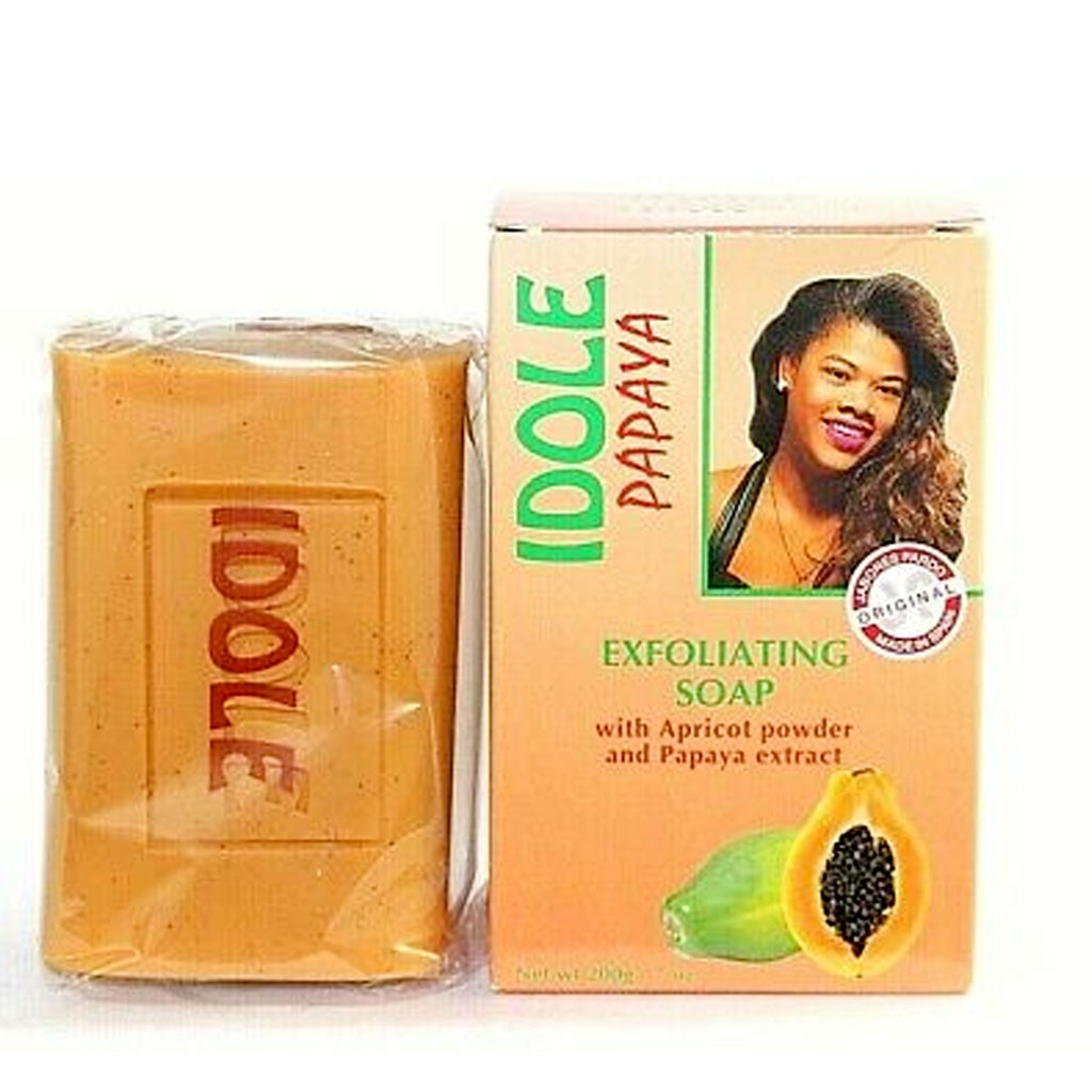 Idole Papaya Exfoliating Lightening Whitening Soap