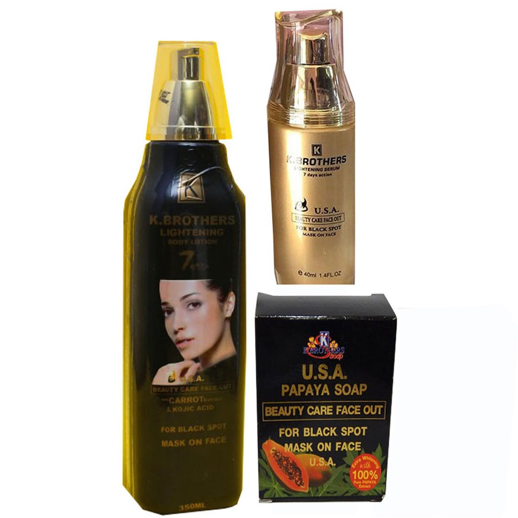 K. Brothers Lightening - Body Lotion, Serum And Soap
