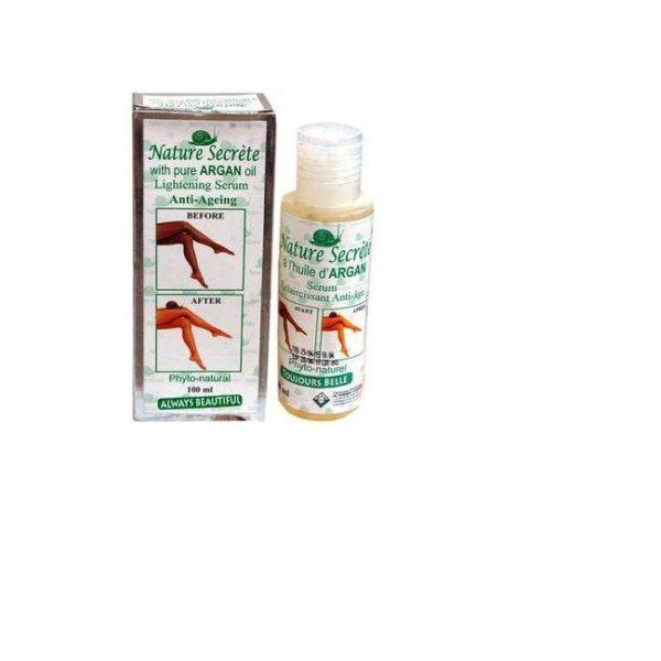 Nature Secrete Lightening Serum With Pure Argan Oil