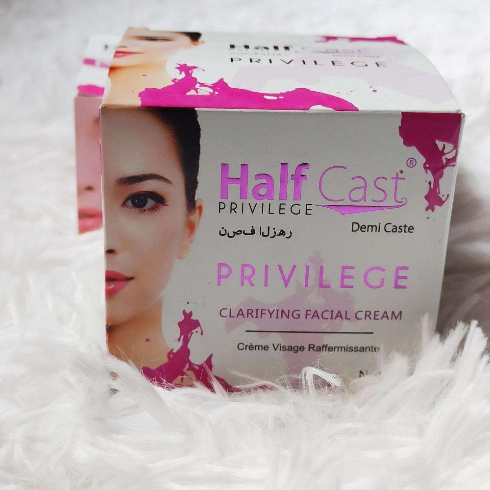 Privilege Half Cast Demi Caste Facial Cream