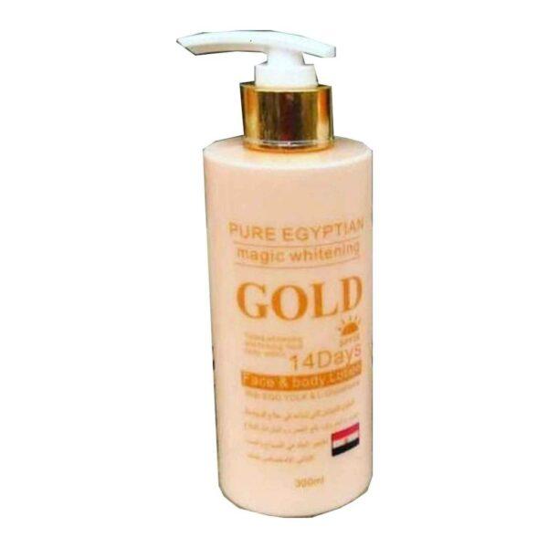 Pure Egyptian Magic Whitening Lotion Gold