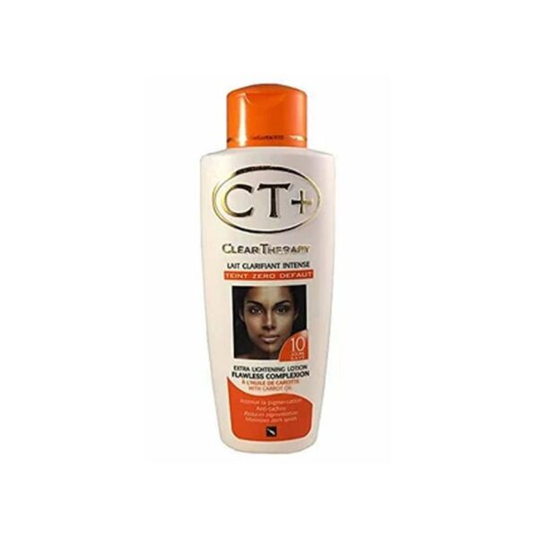 CT+ CLEAR THERAPY EXTRA LIGHTENING CARROT LOTION