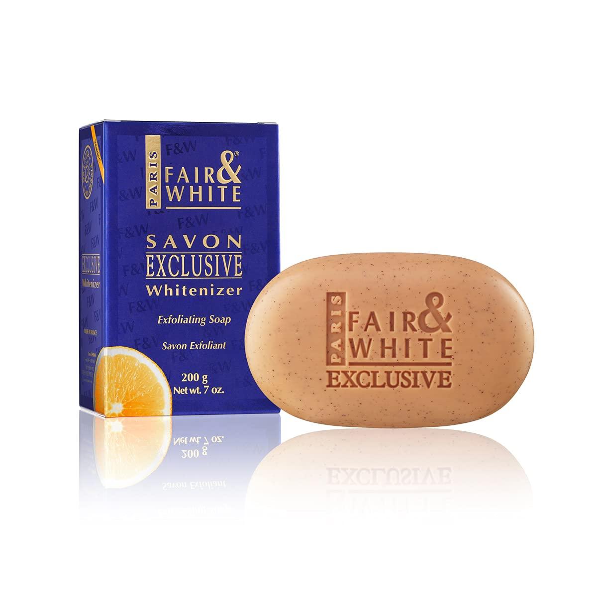 Fair and White Savon Exclusive Whitenizer Exfoliating Soap