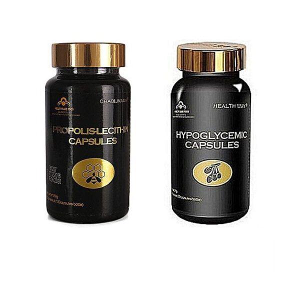 Norland Hypoglycemic Capsules + Propolis- For Diabetes