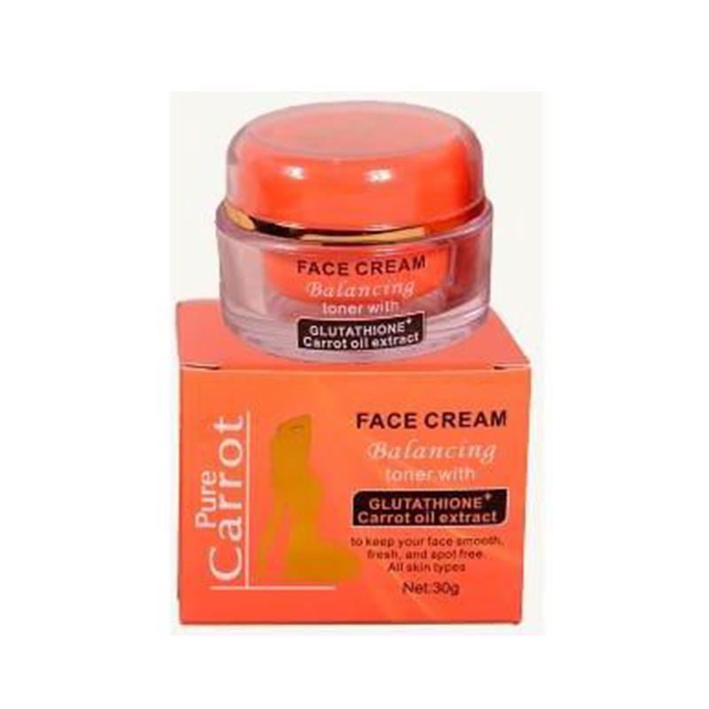 Pure Carrot Face Cream Balancing Toner