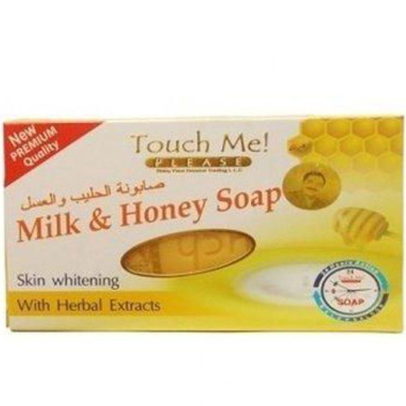 Touch Me Please Milk & Honey Skin Whitening Soap