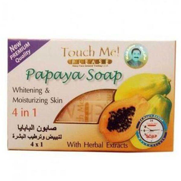 Touch Me Please Papaya Soap